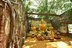 ワット・サン・カラ・タイの写真素材 [FYI02676764]