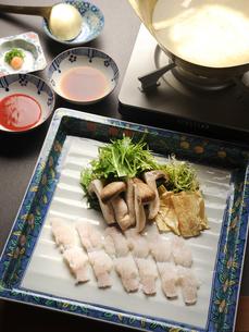 和食 鱧しゃぶの写真素材 [FYI02676873]