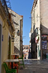 ドゥブロヴニク旧市街の写真素材 [FYI02676965]