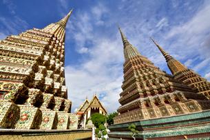 ワットポーの仏塔の写真素材 [FYI02676979]