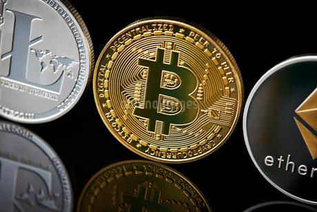 仮想通貨の写真素材 [FYI02676993]