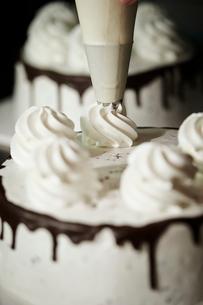ケーキ作りの写真素材 [FYI02677085]