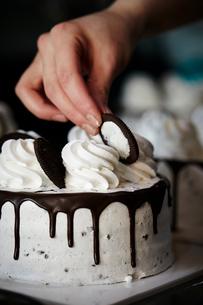 ケーキ作りの写真素材 [FYI02677100]