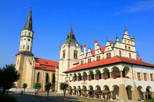レヴォチャの旧市庁舎の写真素材 [FYI02677208]