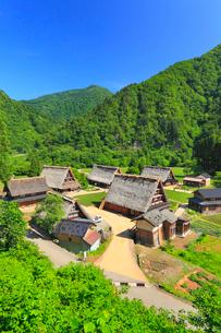 越中五箇山菅沼集落の写真素材 [FYI02677317]
