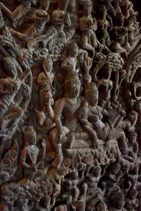 サンクチュアリ・オブ・トゥルースの木彫の写真素材 [FYI02677389]