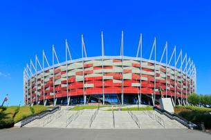 ワルシャワ国立競技場の写真素材 [FYI02677424]