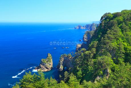 北山崎断崖の写真素材 [FYI02677648]