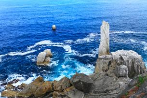 巨釜の折石の写真素材 [FYI02677653]