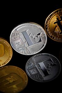 仮想通貨の写真素材 [FYI02677687]