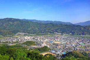 冨士山から望む市街の写真素材 [FYI02677717]
