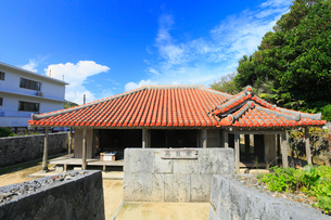 慶良間諸島,慶良間島の高良家の写真素材 [FYI02677808]
