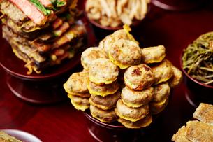 韓国の旧正月料理の写真素材 [FYI02677842]