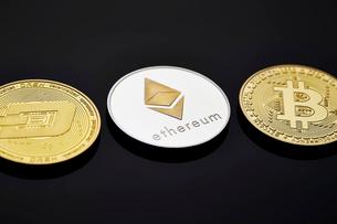 仮想通貨の写真素材 [FYI02677914]