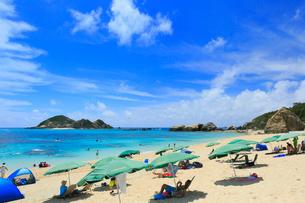 慶良間諸島,渡嘉敷島の阿波連ビーチの写真素材 [FYI02677993]