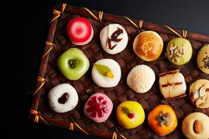 韓国のお菓子の写真素材 [FYI02678012]