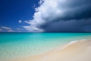 宮古列島来間島の長間浜の写真素材 [FYI02678072]