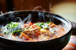 魚卵鍋の写真素材 [FYI02678083]