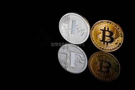 仮想通貨の写真素材 [FYI02678126]