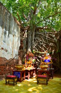 ワット・サン・カラ・タイの写真素材 [FYI02678190]