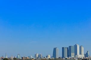 名古屋駅周辺の高層ビルと町並みの写真素材 [FYI02678207]