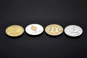 仮想通貨の写真素材 [FYI02678388]