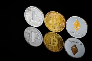 仮想通貨の写真素材 [FYI02678435]