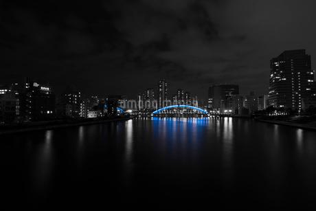 隅田川と永代橋の写真素材 [FYI02678449]