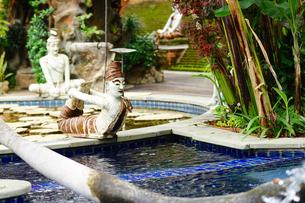 ホテル内プールの写真素材 [FYI02678662]