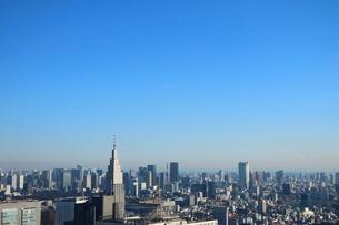 東京都庁から見た東京タワー方面の写真素材 [FYI02678674]