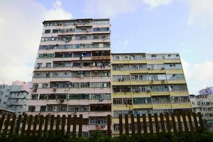 香港の街角の写真素材 [FYI02678707]