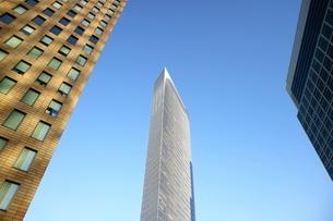 汐留の超高層ビルの写真素材 [FYI02678717]