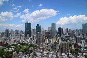麻布十番から見える港区の眺望の写真素材 [FYI02678860]