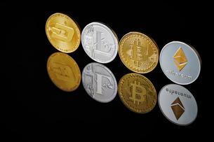 仮想通貨の写真素材 [FYI02678887]