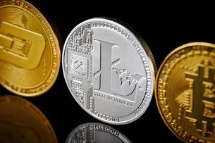 仮想通貨の写真素材 [FYI02678899]