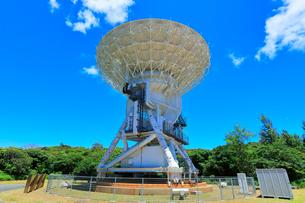 小笠原諸島父島 国立天文台 VERA 電波望遠鏡の写真素材 [FYI02678928]