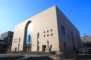 カトリック玉造教会(大阪カテドラル聖マリア大聖堂)の写真素材 [FYI02679040]