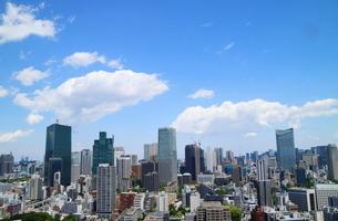 麻布十番から見える港区の眺望の写真素材 [FYI02679069]