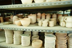 セラドン焼き工房の写真素材 [FYI02679079]