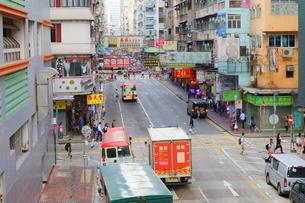 香港の街角の写真素材 [FYI02679162]
