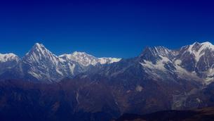 ヒマラヤ山脈マチャプチャレの写真素材 [FYI02679163]
