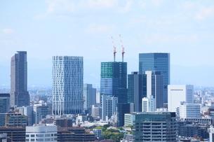 麻布十番から見える渋谷方面の眺望の写真素材 [FYI02679164]