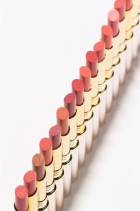 口紅の集合カット08の写真素材 [FYI02679256]