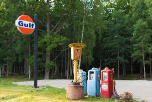 オレフォスのホステル ガソリンスタンドのオブジェの写真素材 [FYI02679294]