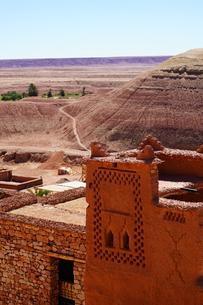 モロッコ アイトベンハッドウ 世界遺産の写真素材 [FYI02679311]