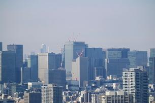 豊洲から見た東京駅方面の写真素材 [FYI02679328]