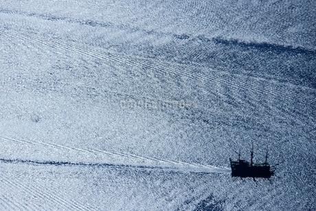 芦ノ湖遊覧船の写真素材 [FYI02679366]