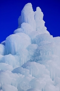 西湖樹氷まつりの写真素材 [FYI02679414]