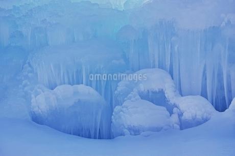 西湖樹氷まつりの写真素材 [FYI02679619]