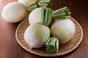 京野菜 聖護院大根の写真素材 [FYI02679667]